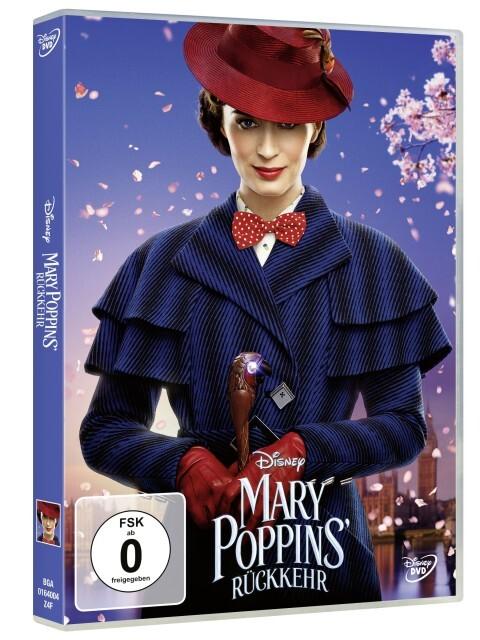 Mary Poppins Rückkehr als DVD