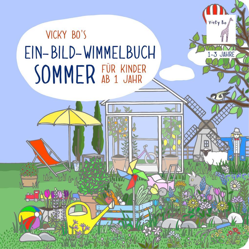 Ein-Bild-Wimmelbuch für Kinder ab 1 Jahr - Sommer als Buch
