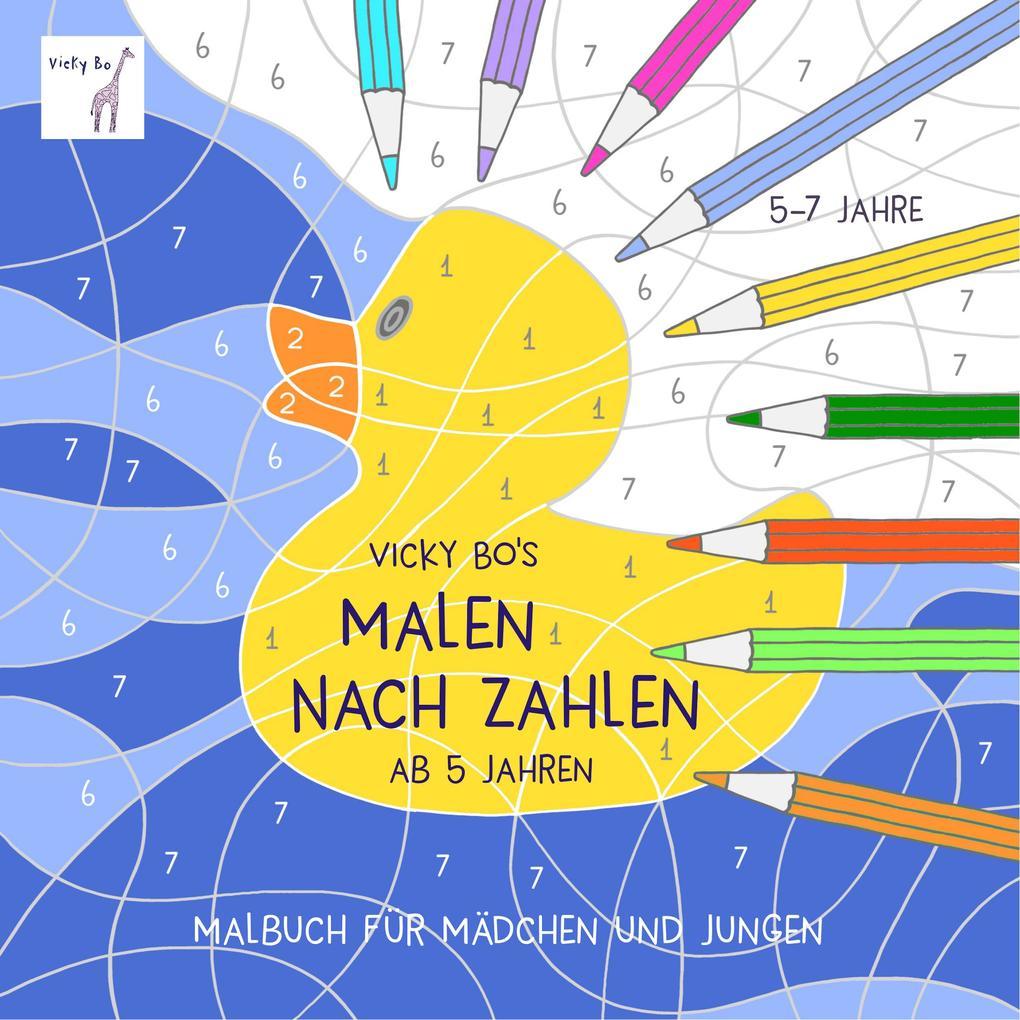 Vicky Bos Malen Nach Zahlen Ab 5 Jahren