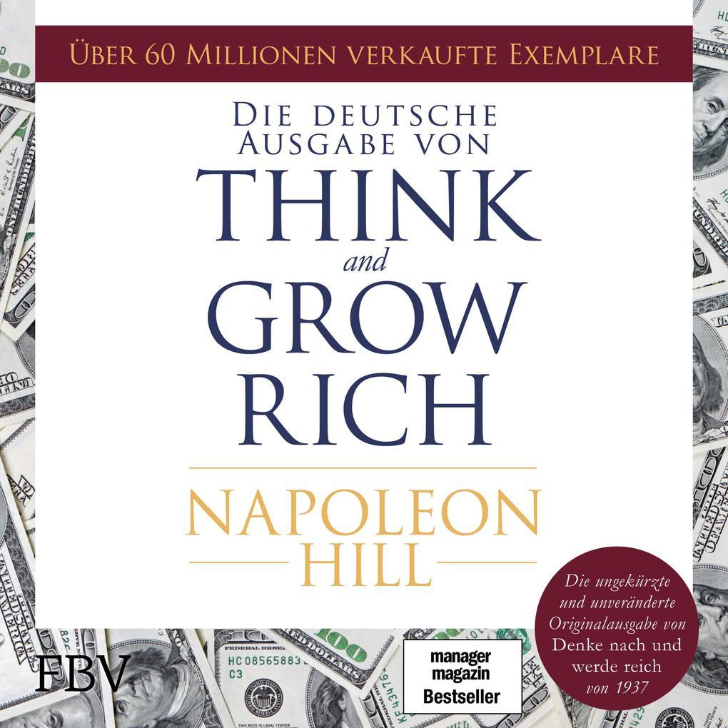 Think and Grow Rich - Deutsche Ausgabe als Hörbuch Download