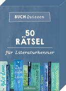 Buchquizzen - 50 Rätsel für Literaturkenner