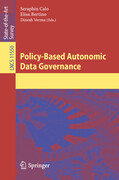 Policy-Based Autonomic Data Governance