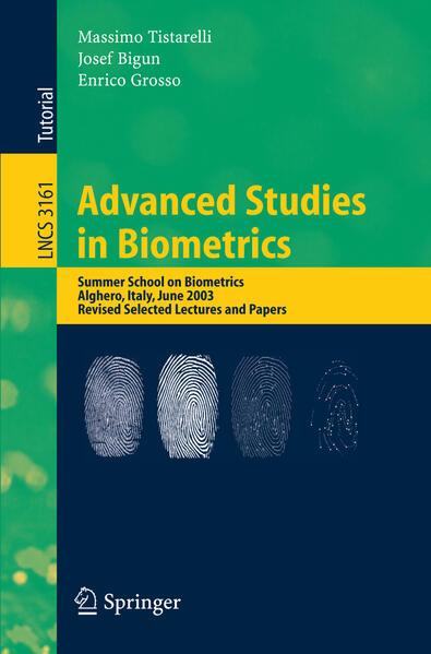 Advanced Studies in Biometrics als Buch von