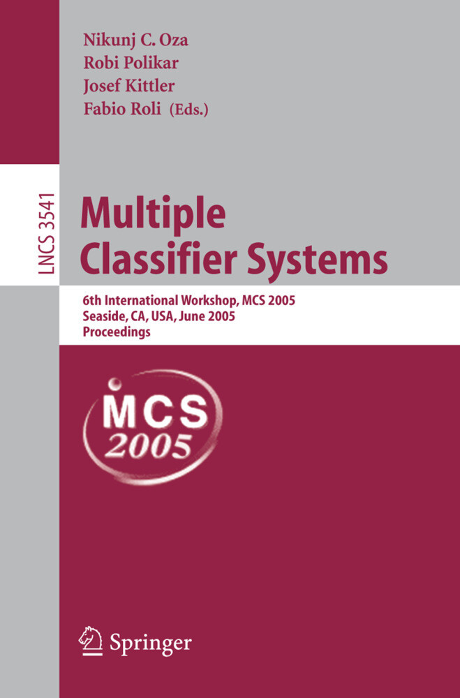 Multiple Classifier Systems als Buch von