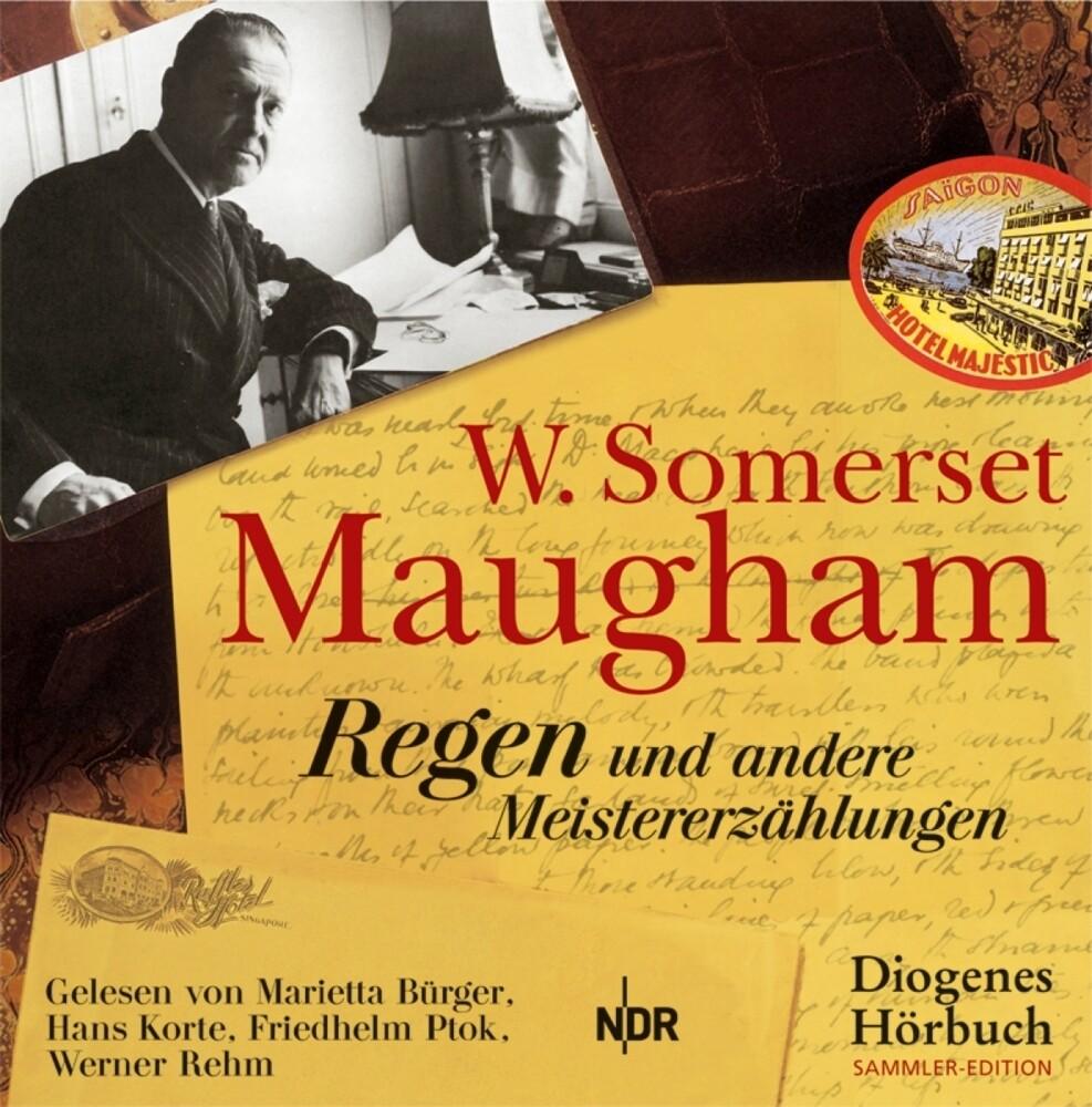 Regen und andere Meistererzählungen, 6 Audio-CD als Hörbuch CD