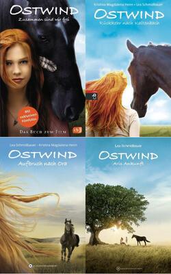 Ostwind - Buchpaket mit 4 Bänden als Mängelexemplar