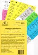 SteuerErlasse Griffregister Nr. 2375 mit Stichworten
