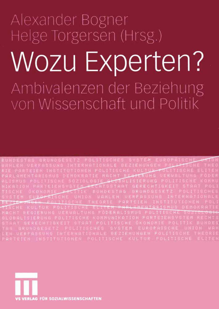 Wozu Experten? als Buch von