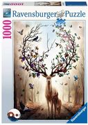 Fantasydeer (Magischer Hirsch) Puzzle 1000 Teile