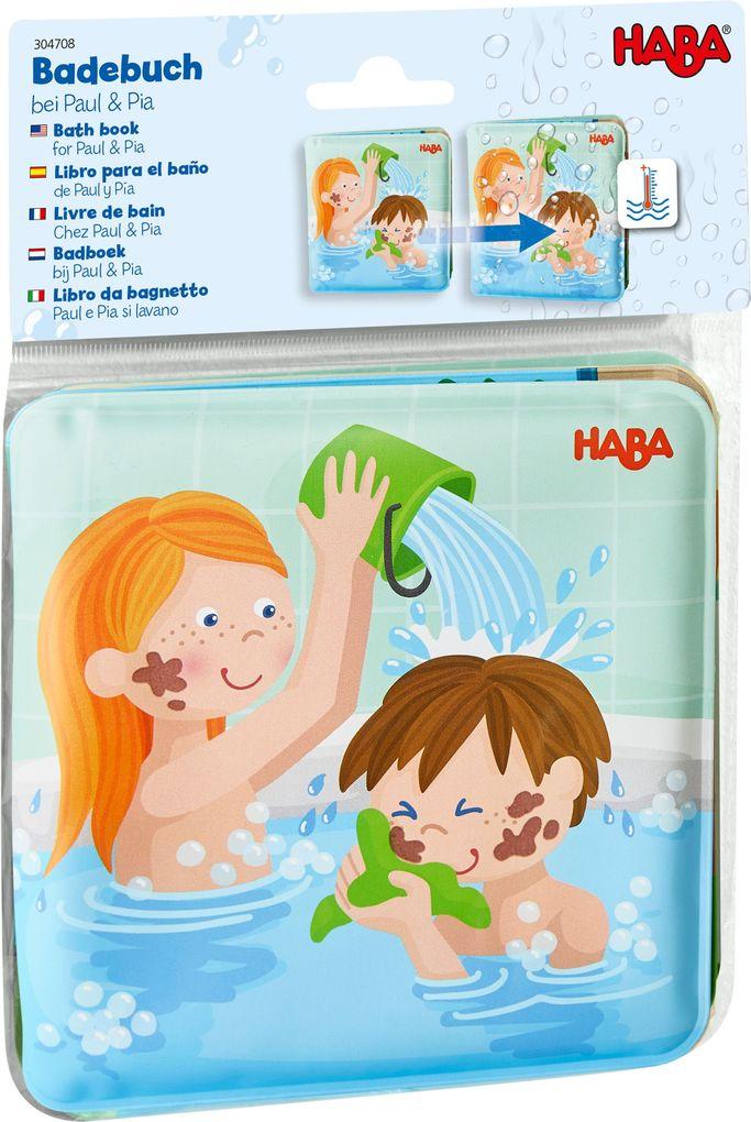 Badebuch 'Waschtag bei Paul & Pia' von HABA
