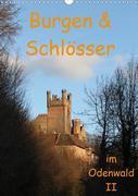 Burgen & Schlösser im Odenwald II (Wandkalender 2020 DIN A3 hoch)