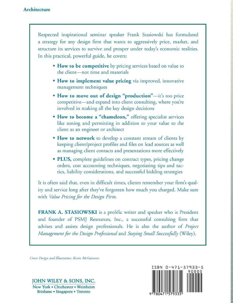 Value Pricing for the Design Firm als Taschenbu...