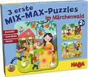 3 erste Mix-Max-Puzzles - Im Märchenwald