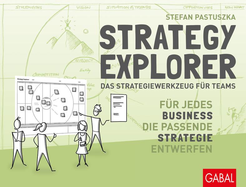 Strategy Explorer - das Strategiewerkzeug für Teams als Buch