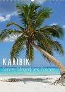 Karibik - Sonne, Strand und Palmen (Wandkalender 2020 DIN A2 hoch)