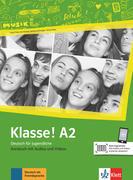 Klasse! A2. Kursbuch mit Audios und Videos
