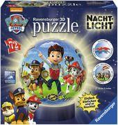 Ravensburger Spiel - 3D Puzzles - Nachtlicht Paw Patrol, 72 Teile