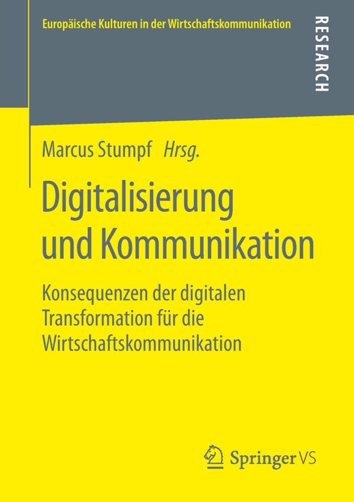 Digitalisierung und Kommunikation als Buch (kartoniert)