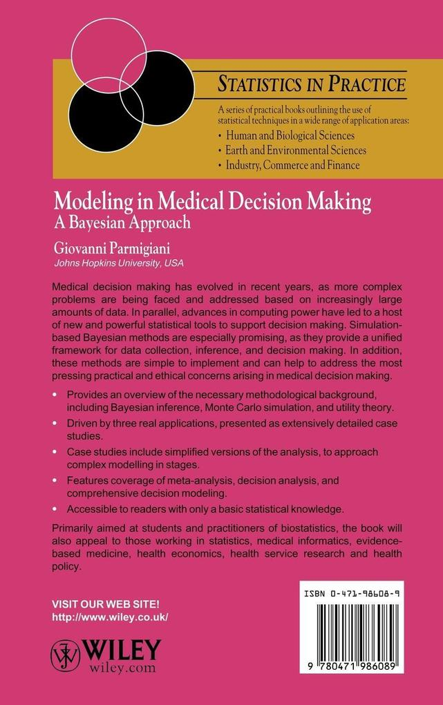Modeling in Medical Decision Making als Buch vo...
