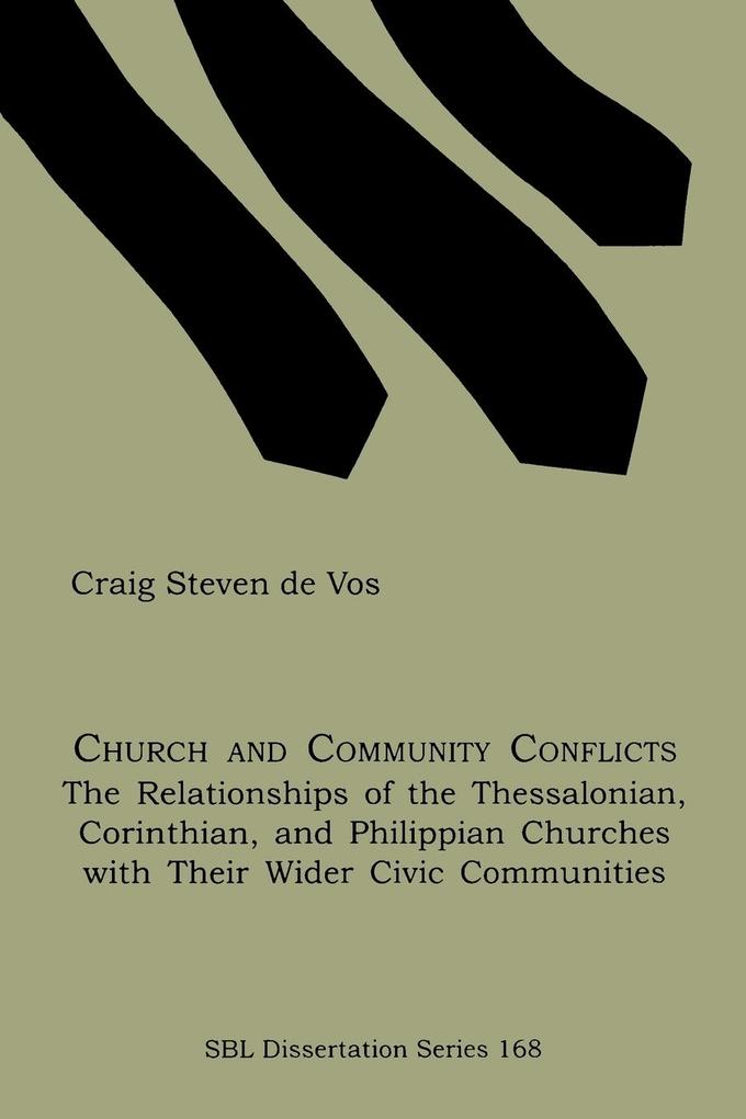 Church and Community Conflicts als Taschenbuch ...