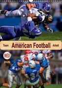 American Football, Team-Arbeit (Wandkalender 2020 DIN A3 hoch)