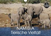 Namibia - Tierische Vielfalt (Planer) (Wandkalender 2020 DIN A4 quer)
