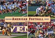 American Football - athletisch und riskant (Wandkalender 2020 DIN A3 quer)