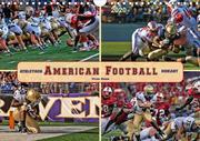 American Football - athletisch und riskant (Wandkalender 2020 DIN A4 quer)