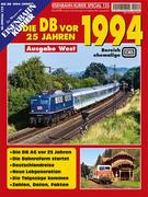 EK-Special 131: Die Deutsche Bahn vor 25 Jahren - 1994 Ausgabe West