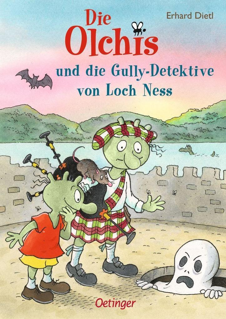 Die Olchis und die Gully-Detektive von Loch Ness als Buch (gebunden)
