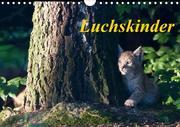 Luchskinder (Wandkalender 2020 DIN A4 quer)
