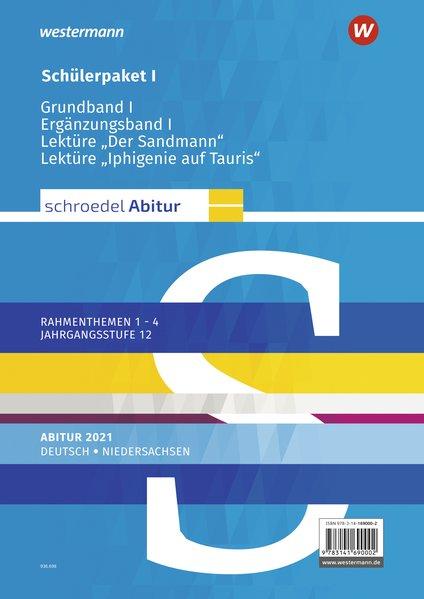 Schroedel Abitur - Ausgabe für Niedersachsen 2021. Deutsch. Schülerpaket I als Buch