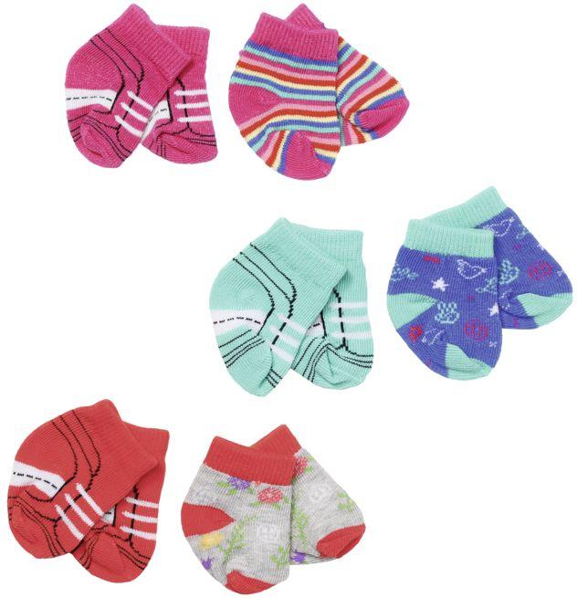 Zapf Creation - Baby born Trend Socken 2x, 43cm 3 sort. als sonstige Artikel