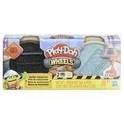 Hasbro E4525EU4 - Play-Doh Baustellenknete, Asphalt & Zement, grau