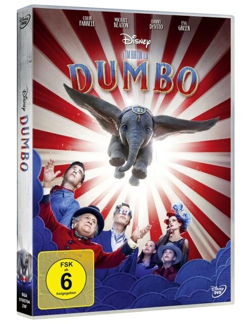 Dumbo als DVD