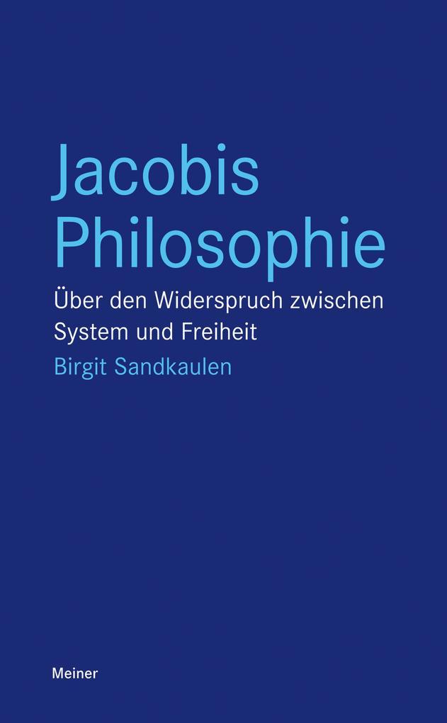 Jacobis Philosophie als eBook