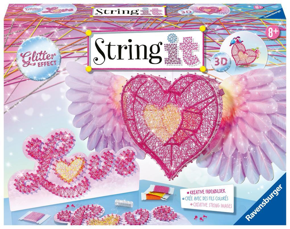 3D-Heart String It als Spielware