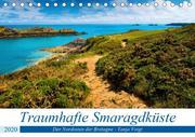 Traumhafte Smaragdküste (Tischkalender 2020 DIN A5 quer)