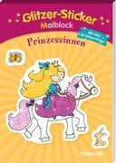 Glitzer-Sticker-Malblock. Prinzessinnen