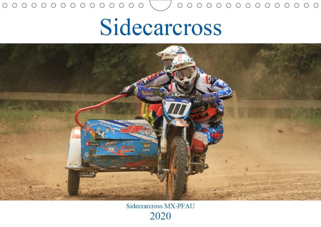 Calendrier 2020 Side Car Cross.Sidecarcross Wandkalender 2020 Din A4 Quer
