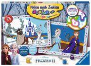 Ravensburger Spiel - Malen nach Zahlen - Frozen 2 - Freunde fürs Leben