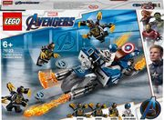 LEGO® Marvel Avengers Movie 4 76123 - Captain America: Outrider-Attacke