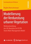 Modellierung der Verdunstung urbaner Vegetation