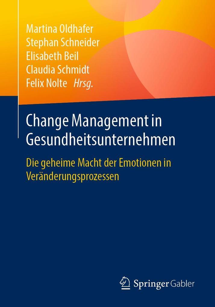 Change Management in Gesundheitsunternehmen als eBook