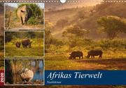Afrikas Tierwelt: Nashörner (Wandkalender 2020 DIN A3 quer)