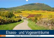 Elsass- und Vogesenträume (Wandkalender 2020 DIN A3 quer)