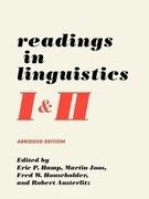 Readings in Linguistics I & II