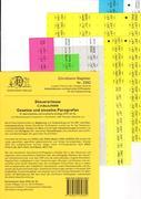 DürckheimRegister® STEUERERLASSE Gesetze und §§ (2020)