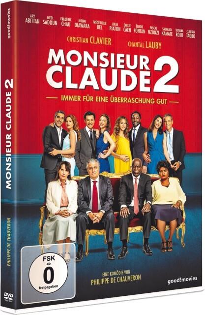 Monsieur Claude 2 als DVD