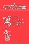 Policy Research in Educational Settings
